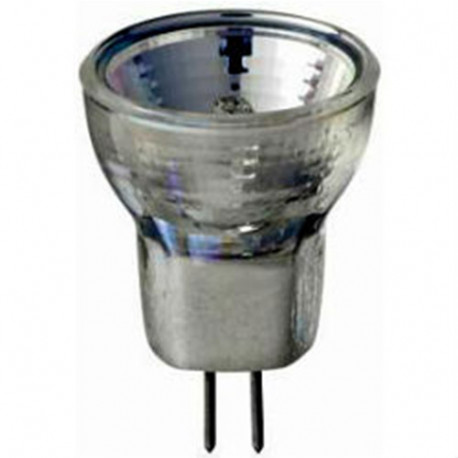 MR8502 Higuchi / Hikari Light Bulb: 5 watt, 12 volt, flood, quartz halogen, MR8, GZ4