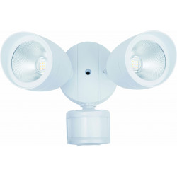 LED/FIX/2HEAD/FL/RND/20W/1400L/50K/MOTION/WHT