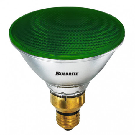 BULBRITE 683904 Light Bulb: 90 watt, green, PAR38 recessed can flood