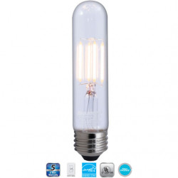 Bulbrite 776681 LED Light Bulb: 5 inch 4 watt 2700K filament tube lamp