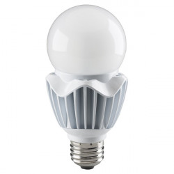 Satco S8737 LED Light Bulb: 20 watt, 120 to 277 volt, 2700K, A21, E26