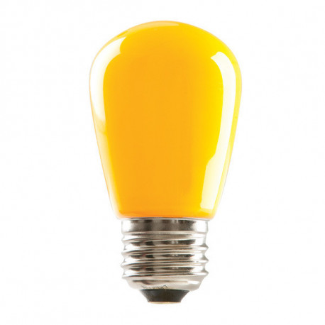 LED/S14/1.4W/E26/YELLOW/DIM