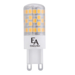 EA-G9-4.5W LED Light Bulb: replaces 50 watt halogen, 3000K, T5.5, G9