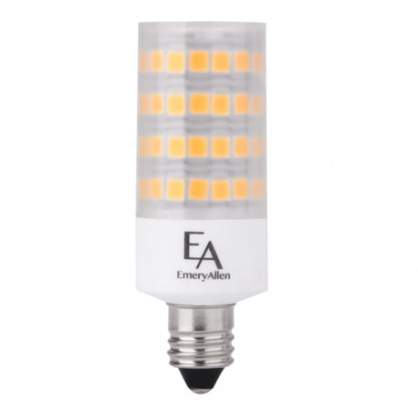 EA-E11-5.0W LED Light Bulb: replaces 60 watt halogen, 3000K, T6.5, E11