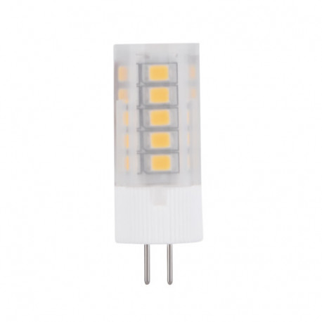 EA-G4-3.0W LED Light Bulb: 3 watt, 12 volt, 3000K, G4