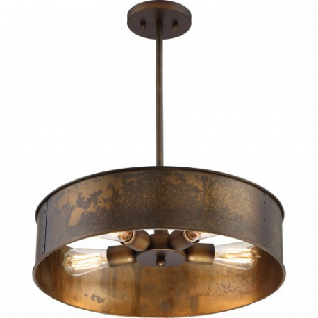 FIX/KETTLE/PENDANT/4LAMP/BRASS