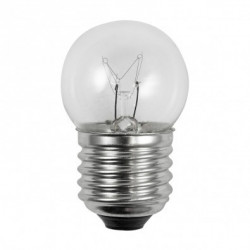 Light Bulb: 7.5 watt, 130 volt, S11 incandescent sign lamp, E26