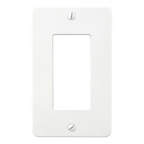 WALLSWITCH/TRIMPLATE/WHITE