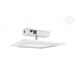 NaturaLED 7555 LED Gas Canopy Fixture: 150 Watt (replaces MH400) 5000K