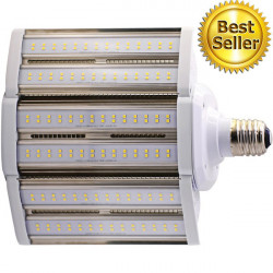 Satco S8932 LED 180 Degree Post Light Bulb: 80 watt, 5000K, E39