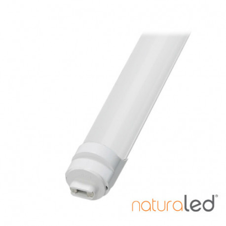LED/T8/43W/96IN/850K/LINE-V/FROSTED/R17D