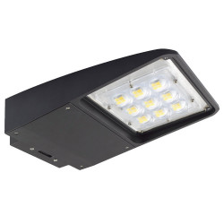 NaturaLED 7625 LED Slim Area Light Fixture: 75 watt, 5000K