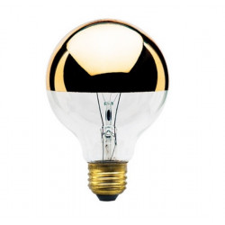 40G25HG Bulbrite 712424 Light Bulb: 40 watt, G25, gold bowl top, E26