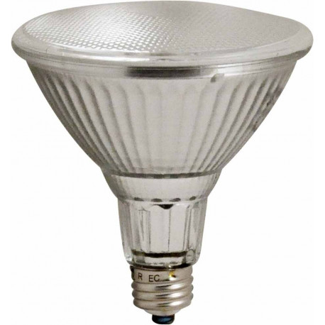 Plusrite 3509 Light Bulb: 38 watt halogen, 120 volt, 2850K, PAR38, E26