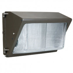 NaturaLED 7076 LED Wallpack Fixture: 42 watt, brown powdercoat finish