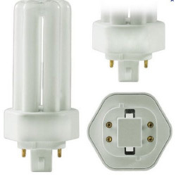 CFT18W/4P/835 Plusrite 4037 CFL Light Bulb: 18 watt, plug in, GX24Q-2