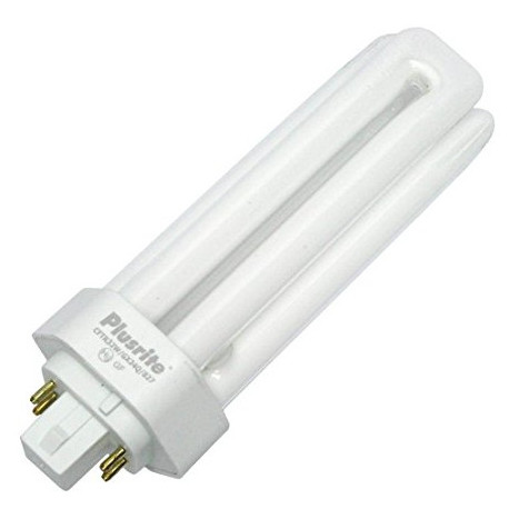 Plusrite 4042 Light Bulb: 32 watt, 2700K, CFL, GX24Q-3