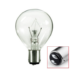 BLC Eiko 10020 Light Bulb: 30 watt, 120v, S11 incandescent lamp, BA15D