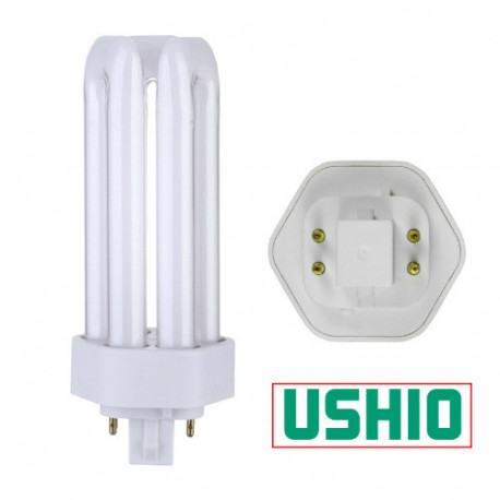 CF32TE/830 Ushio 3000252 Light Bulb: 32 watt, 3000K, CFL tube, GX24Q-3