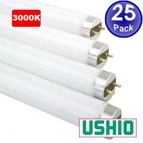 "FO32/830K/ECO Ushio 3000099 Fluorescent Light Bulb: 48"", 3000K"
