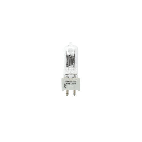 FSX/230 Osram 54897 Light Bulb: 400 watt, 230 volt, T6 halogen, GY9.5