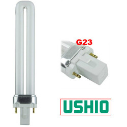 CF9S/841 Ushio 3000218 Light Bulb: 9 watt, 4100K, 1 BX CFL tube, G23