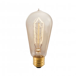 Bulbrite 134018 Light Bulb: 40 watt, antique ST18 edison vintage, E26