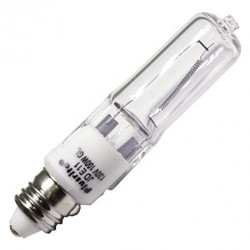 JD100/CL/E11/130 Plusrite 3471 Light Bulb: 100 watt, T4, E11, ESN
