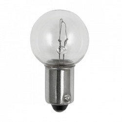 1458 Light Bulb: 5 watt, 20 volt, G5, BA9 (BA9S) single bayonet base