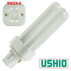 PL13D/35 Ushio 3000053 Light Bulb: 13 watt, 3500K, plug in CFL, GX23-2