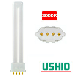 PL13SE/30 Ushio 3000251 Light Bulb: 13 watt plug in CFL, 2GX7, 3000K