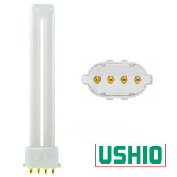 CF13SE/841 Ushio 3000181 Light Bulb: 13 watt plug in CFL, 2GX7, 4100K