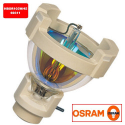 HBO R 103 W/45 Osram 69311 Light Bulb: 100 watt, 24v mercury short-arc