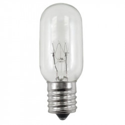"40T8N-130V-INT Light Bulb: 2.63"" MOL, 40 watt, 130 volt, clear T8, E17"