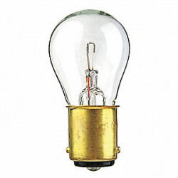1612 Light Bulb: 10.26 watt, 5.4 volt, clear, S8 incandescent, BA15D