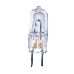 64602 Osram 54607 Light Bulb: 50 watt, 12 volt, T3.25 halogen, G6.35