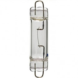 XFLP1024 Light Bulb: 10 watt, 24 volt, T3 xenon lamp with a rigid loop
