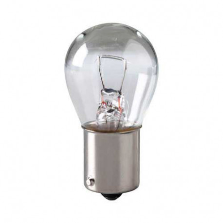 1156 Light Bulb: 26.88 watt, 12.8 volt, S8 incandescent lamp, BA15S