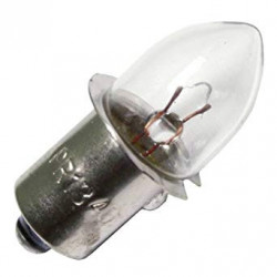 PR13-FROSTED Mini Indicator Bulb: 2.375 watt, 4.75 volt, frosted B3.5