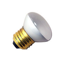 40R14/FL-130 Halco 9100 Light Bulb: 40 watt, 130 volt, R14, E26