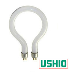 FC72T4.5/M36 Ushio 3000120 Light Bulb: 10.9 watt, 33 volt T7.5 ring