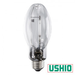 HPS50CL/MED Ushio 5000056 Light Bulb: clear 50 watt, ED17 HPS, E26