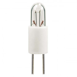 7347 Light Bulb: .3 watt, 5 volt, T1.75 indicator, S5.7 midget grove