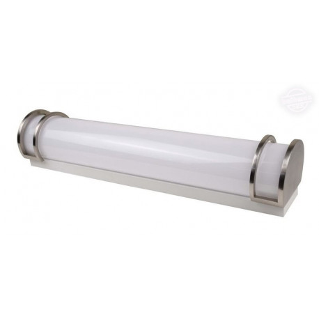 NaturaLED 7021 2 Foot LED Fixture: 23 watt, 4000K, polished chrome