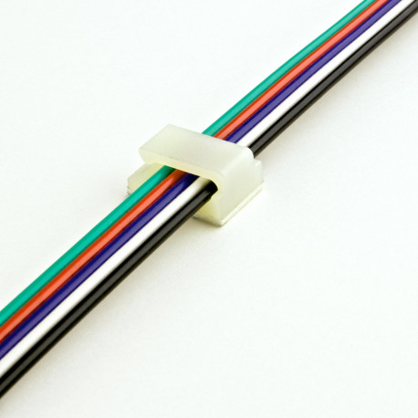 DiodeLED DI-WM-WC 10 Pack Wire Clip With Adhesive Tape Backing