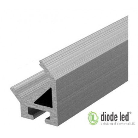 DiodeLED DI-CPCHA-4548 48 Inch Aluminum 45 Degree Channel