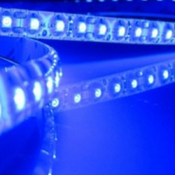 DI-0142 DiodeLED BLAZE 12 volt, 16' LED flex strip tape blue color