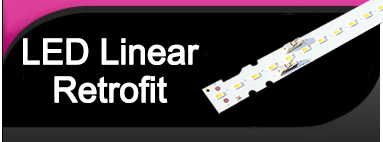 LED Linear Retrofit Light Bulb LED Strip Kits - replaces four 2' T8 or T12 tubes for 2x2 lay in troffer