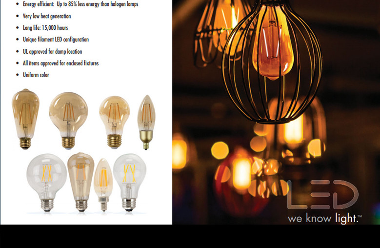 TCP Vintage Filament Style Led Lamps